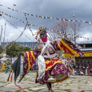 URA YAKCHOE FESTIVAL   BHUTAN