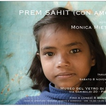 PIEGARO (PG), Museo del Vetro   Prem Sahit, con amore