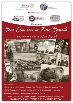 """""""San Giovanni in Fiore sparita"""" di Mario Iaquinta (San Giovanni in Fiore 9 giu 2018)"""