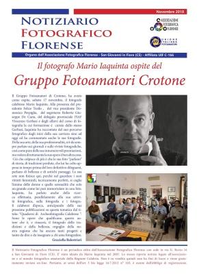 Ospite al Fotoclub: Mario IAQUINTA (Crotone 17 nov 2018)