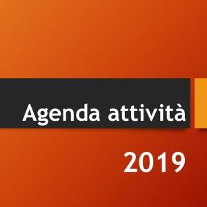 Agenda attività 2019