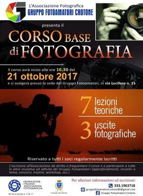 XXXI Corso Base di Fotografia 2017