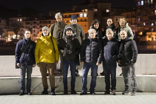 18 nov 2018 Crotone, lungomare - Uscita notturna tutor/corsisti