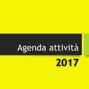 Agenda attività 2017