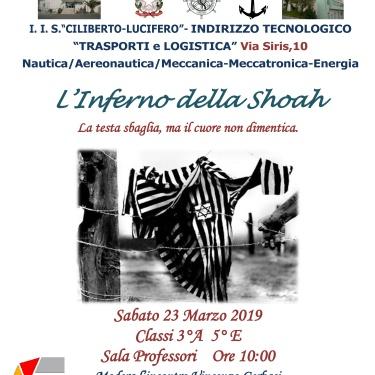 """Crotone - I.I.S.  """"Ciliberto-Lucifero"""" presenta: """"Never Again"""" di Raffaele LUMARE"""