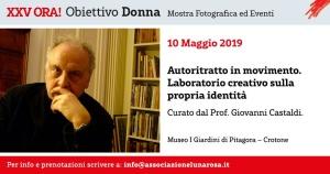 """10.05.2019 - """"Autoritratto in movimento"""" con Prof. Giovanni CASTALDI"""