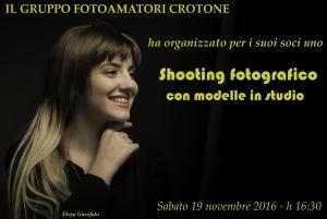 Shooting fotografico con la modella Elvya Garofalo a cura di Paolo LATERZA - 20.02.2016