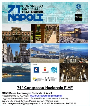 71° Congresso Nazionale Fiaf 10-14 aprile 2019