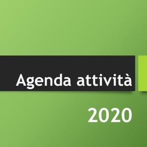 Agenda attività 2020
