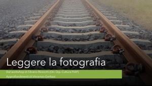 """""""Leggere la fotografia"""" a cura di Vincenzo Gerbasi - 23.04.2020"""