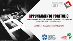 Appuntamento PORTFOLIO a cura di Vincenzo Gerbasi - 25.05.2020 h 21:00
