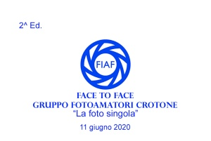 2020.06.11 - 2^ Ed. Face To Face - Lettura FOTO SINGOLE