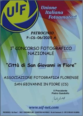 1° Concorso Fotografico Nazionale Città di San Giovanni in Fiore