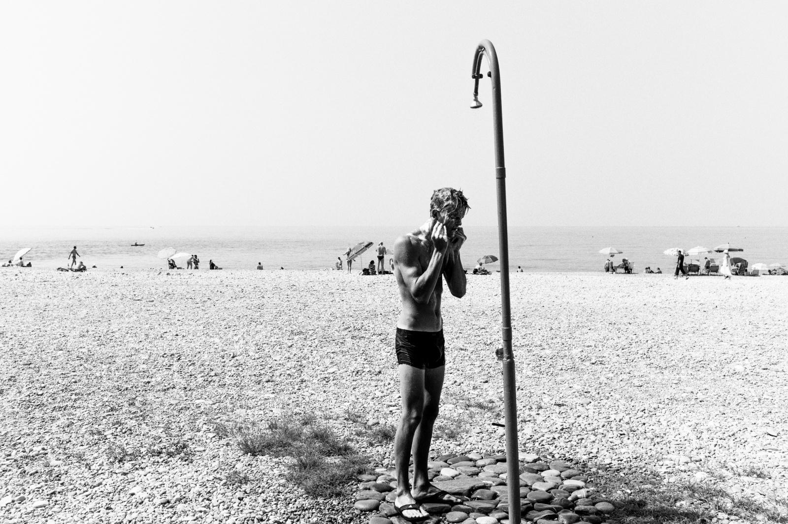 Bagnanti - Migranti / Ventimiglia - Luglio 2015