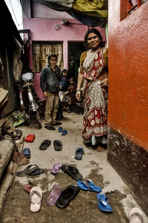 Siliguri Slum