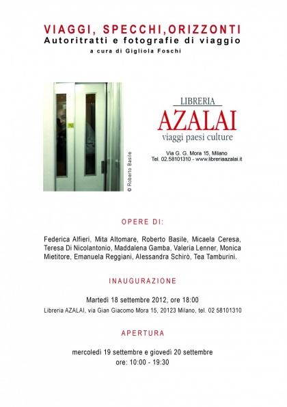 MILANO, Libreria Azalai   Viaggi, specchi, orizzonti, 2012