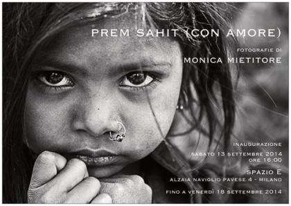MILANO, Spazio E | Prem Sahit, con amore
